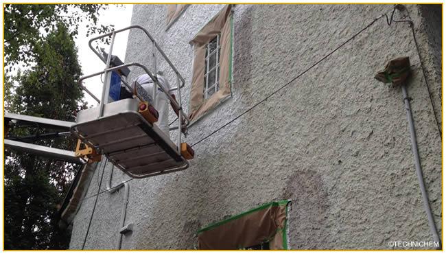 produits professionnels de nettoyage pour fa ades sols et terrasses. Black Bedroom Furniture Sets. Home Design Ideas